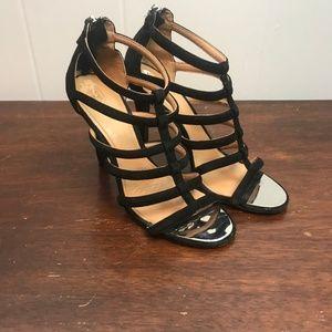 Coach | 8.5 Lavania Strappy Velvet Heels
